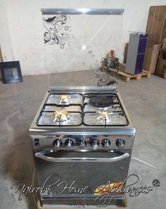 Nexus 60x60cm, 3G+ 1E Stainless Steel Cooker