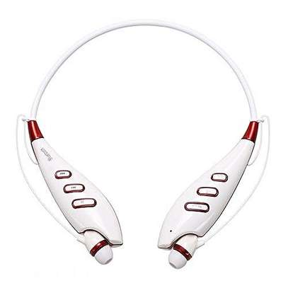 HBS-740 Wireless Stereo Bluetooth 4.0 Headset Neckband Style Headset Earphone Headphone. image 1