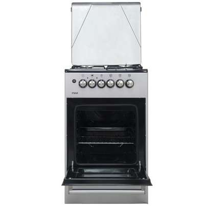 Official Store Mika MST50PU31SL,Standing Cooker, 50cm X 50cm, 3 + 1, Silver image 5
