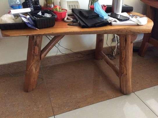 Sofa set, garden chair (2), tables (2), shoe rack, center table image 6