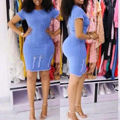 Denim Dress image 1