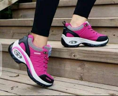 Ladies sneakers shoes image 1