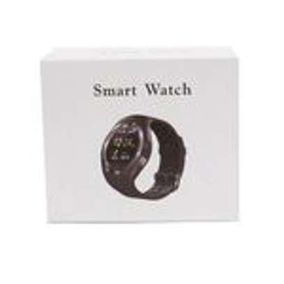 Generic Y1 Smart Phone Watch Free Bluetooth And selfie Stick - Black image 3