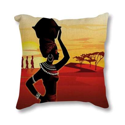 Africa Themed Throw Pillows image 1