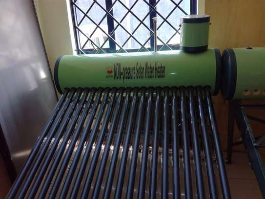 Non - Pressurized Solar Water Heater image 1