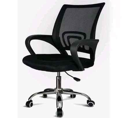 Mid back secretarial chair image 1