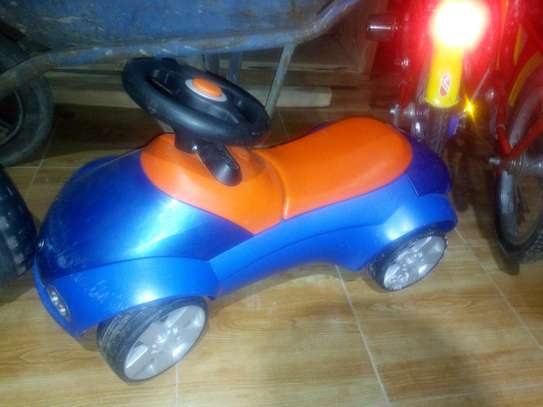 Second hand toy car