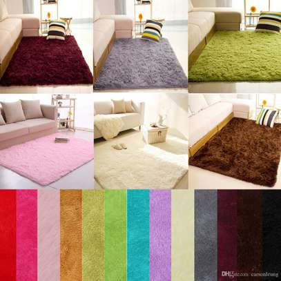 7 BY 8 ANTI SKID FLUFFY CARPET