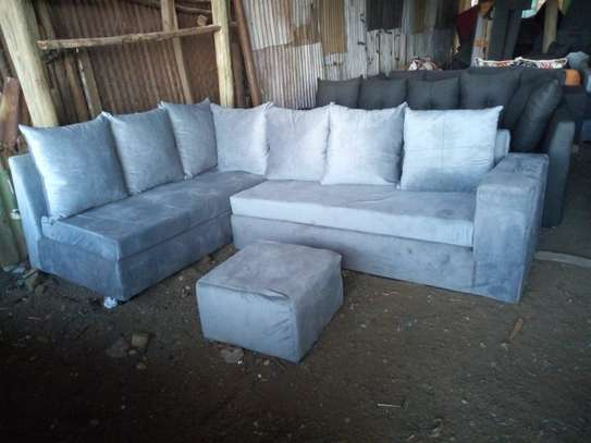 6 Seater pure fibre Sofa image 1