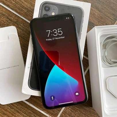 Apple iPhone 11 [256GB] Black Under Warranty image 1