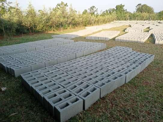 Concrete blocks image 3