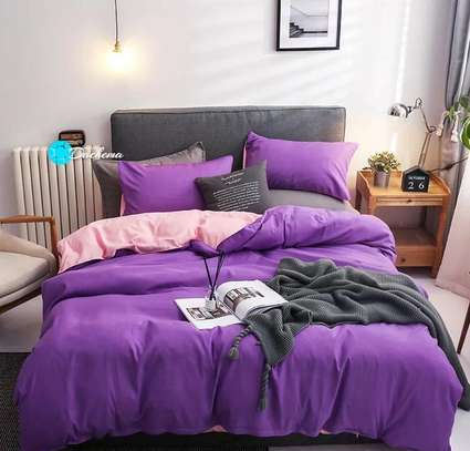 5*6 plain purple duvets image 1