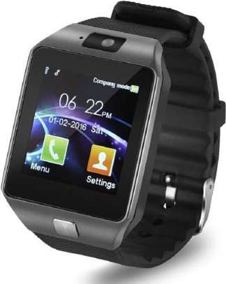 Generic Smart Watch DZ-09 GSM SimCard & Micro SD Wearable Mobilephone Watch image 1