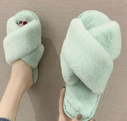 House slippers/ fancy house slippers image 5