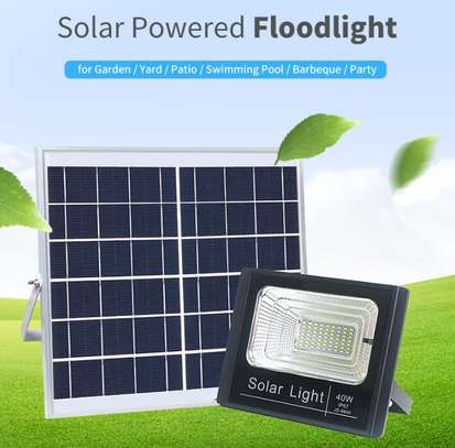 25 Watts Solar LED Outdoor Solar Lighting Flood Light image 1