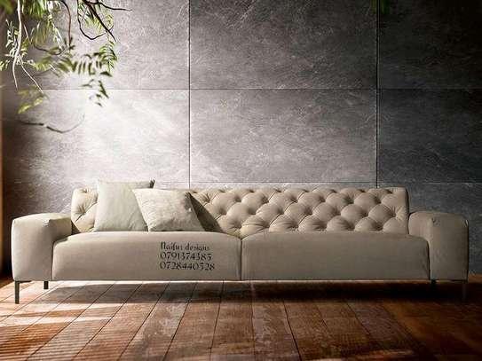 Chesterfield sofas/beige sofas/modern design sofas/sofas for sale/three seater sofas image 1