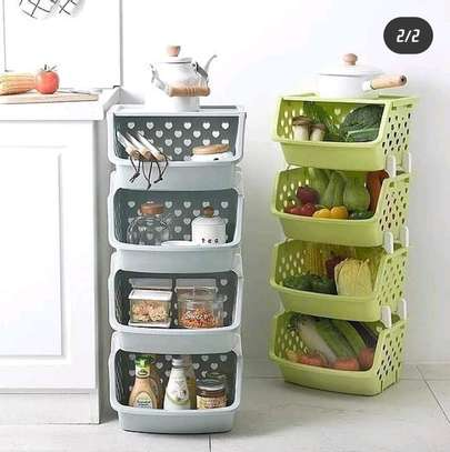 4 tier vegetables rack image 1