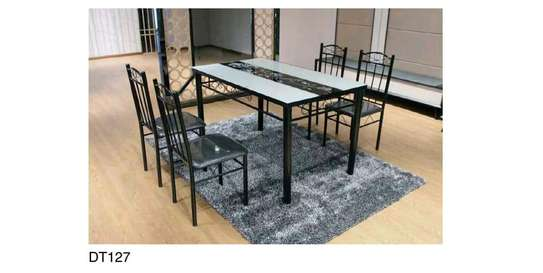 Glass Dining Table Set image 1