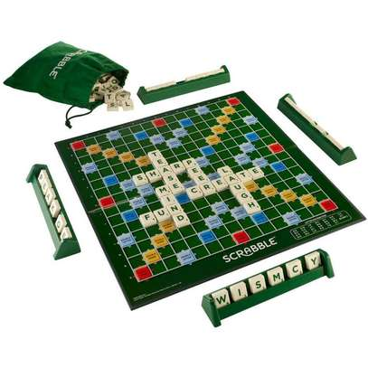 Universal Learning & Educational Scrabble Board Game image 1