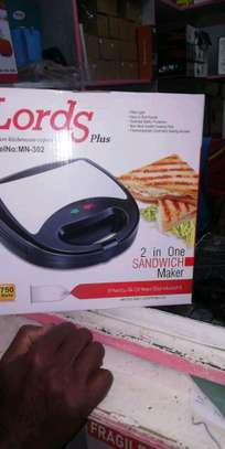 3 in one Sandwich maker, Grill and Waffle  Maker image 1