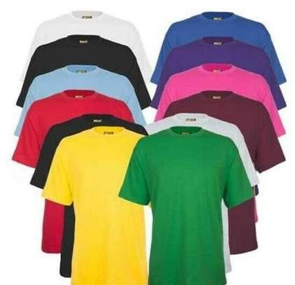 plain round neck  t shirts image 5