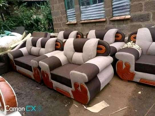 Beautiful Contemporary Quality 7 Seater Sofa Set image 1