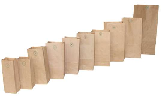 Brown Paper Khaki Bags for Packing & Storage image 4