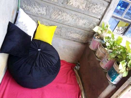 Beanbags and floor pillows image 1
