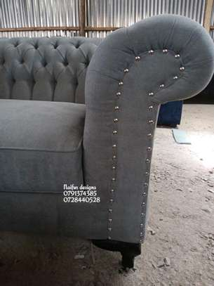 Three seater sofa/sofas for sale/chesterfield sofas/grey sofas for sale in Nairobi image 2