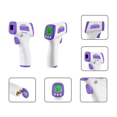 infrared professional handheld non-contact forehead baby adult infrared thermometer image 1