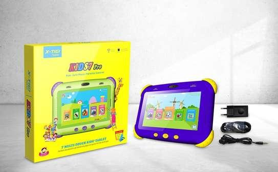 "X Tigi Kids7 Pro Children Tablet 7.0"" 4GB+32GB- 3500mAh- Dual SIM_ Blue image 1"