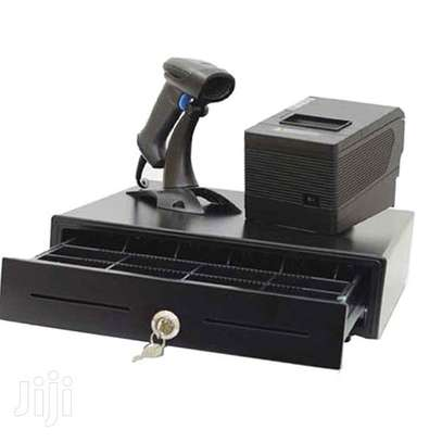 cash drawer 5 notes,usb thermal printer and scanner. software image 1