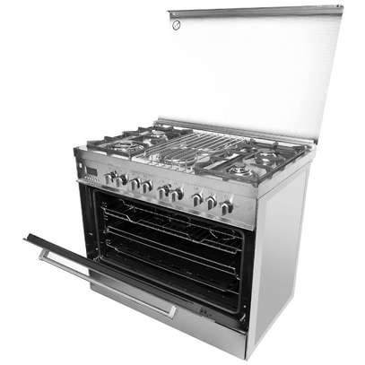 4 GAS+ 2 ELECTRIC STAINLESS STEEL ELBA COOKER- EB/174 image 4