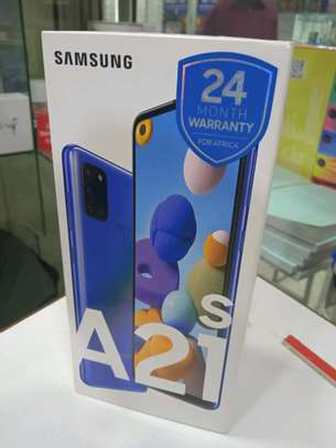 Samsung A21S 64GB 4gb ram 48mp camera 5000mAh battery(shop) image 1