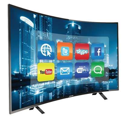 43 Inch Tornado Smart Curved LED TV - Inbuilt Wi-Fi - Full HD image 1