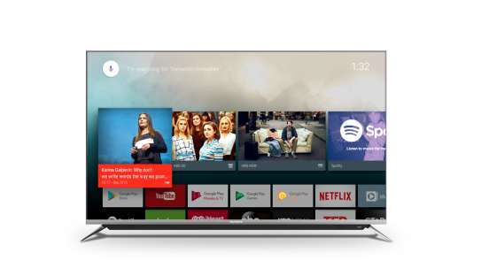 Skyworth 55 Inch 4K UHD Smart Android TV 55G6A11T