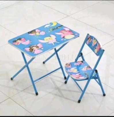 Kids foldable chair+foldable seat set image 10