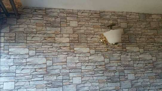 removable european style non woven wallpaper image 1