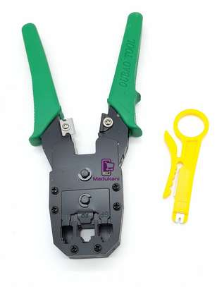P64 Networking Crimping Tool for 4P 6P 8P Modular Plugs image 1