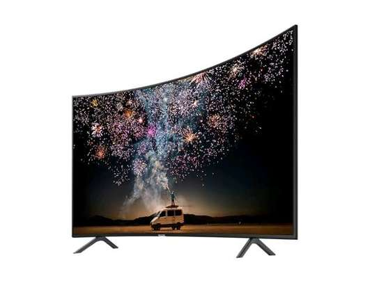Samsung – 55″ – ULTRA HD CURVED SMART LED TV 55RU7300 image 1