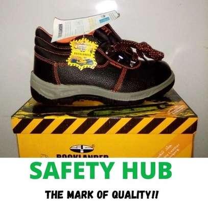 Rocklander industrial safety boots image 1