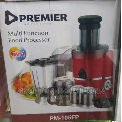 6 in 1 Premier Multifunction Food Processor image 1