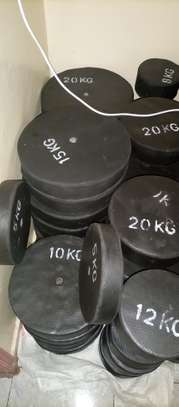 Locally made Gym plates
