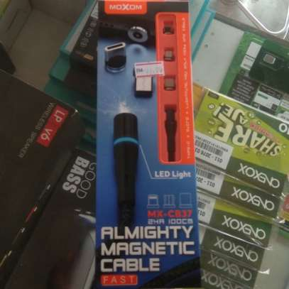 MOXOM (Model: MX-CB37) ALMIGHTY 3 in1 Magnetic Cable image 3
