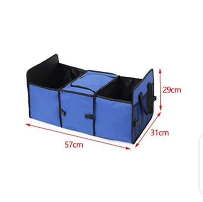 Foldable car boot organizer image 4