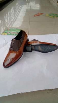 Brown Customized Shoes