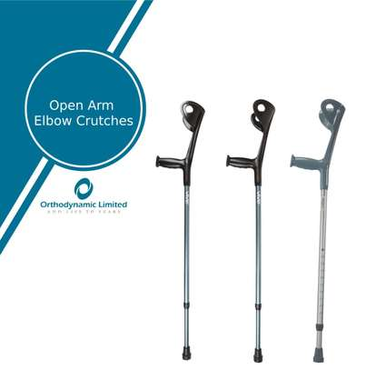 Elbow Crutch/Forearm Crutch with Comfortable grips (A pair) image 1