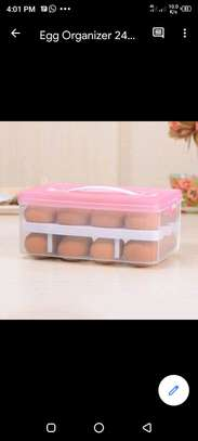 32pcs egg container pink image 1