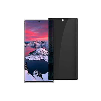 UV Privacy Anti-Spy Anti-Peep NANO Liquid Full Glue Tempered Glass For Samsung Note 20/Note 20 Ultra image 11