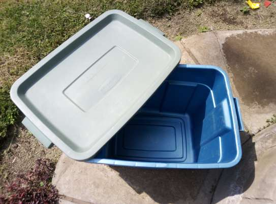 Storage Bins/Stoeage Containers/Roughneck Containers/Plastic Storage Box image 1